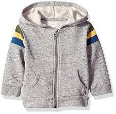 Gymboree Shoe Size Chart Inches Amazon Com Gymboree Baby Boys Long Sleeve Zip Up Jacket