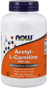 NOW Supplements, Acetyl-L Carnitine 500 mg, Amino ... - Amazon.com