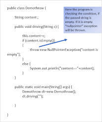 java exceptions and exception handling