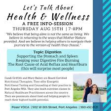Lets Talk About Health Wellness Free Info Session At