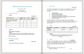 Sample Budget Proposal Format Fabulous Budget Proposal Template