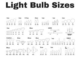 Halogen Bulb Chart 56 Different Types Of Light Bulbs Illustrated Charts