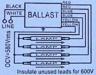 lamp t ballast wiring diagram wiring diagram schematics fluorescent ballasts electrical 101