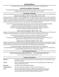 Network Technician Sample Resume 10 Computer - Techtrontechnologies.com