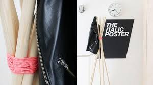 Make Your Own Coat Rack DIY Minimalistic Coat Rack Made From Wood Rods amp Twine FOOYOH 61