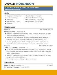 World Best Resume Format Resume Template Ideas
