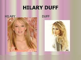 PPT - HILARY DUFF PowerPoint Presentation, free download - ID:4814014
