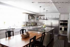 Adorable Kitchen Decor: Impressing Kitchen Island With Table Attached 15  Beautiful Home Design Lover from
