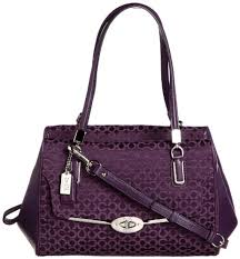 The Features Coach Madison Small Madeline East West Satchel In OpArt  Needlepoint Fabric -