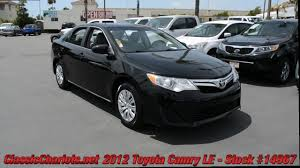 Used 2012 Toyota Camry LE For Sale at Classic Chariots in Vista ...