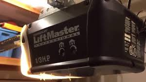 chamberlain lift master garage door opener will not close makes a noise how i fixed it 1 3 hp you