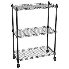 casters for metal shelving unbelievable storage shelves with wheels com home design 29