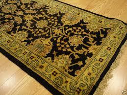 handmade vegetable dye gold black background jewel sultanabad