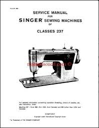 Singer Sewing Machine Lubrication Instructions