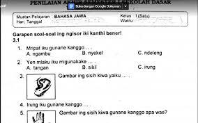 Kunci jawaban tantri basa jawa kelas 3 wulangan 1. Soal Ulangan Bahasa Jawa Kelas 1 Semester 1 K13 Sekolahdasar Net