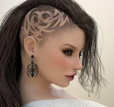 Podholený účes Dlouhé Vlasy