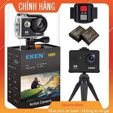 Camera hành trình Eken Ultra HD Wifi quay video 4K tặng đầy đủ bộ phụ kiện  sports lắp đặt trên cả ô tô xe máy chính hãng - Camera hành trình -