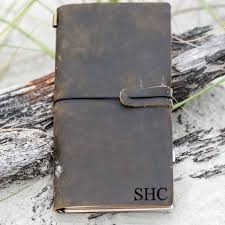 engraved genuine leather journals