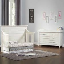 Olzo Baby Crestwood 2 PC Baby Furniture Set Oyster White JCPenney