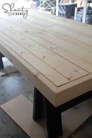 elegant diy patio dining table and diy table pottery barn inspired shanty 2 chic