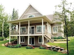 lake house plans with walkout basement new pictures of small lake house plans with walkout basement