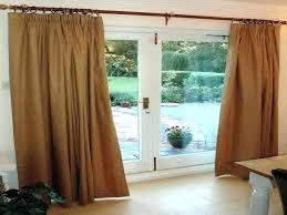 curtains for glass sliding doors double taking measurements your door in kitchen