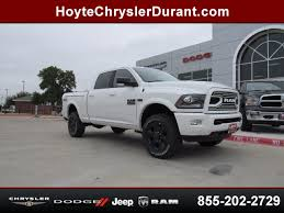 new 2018 dodge ram. Simple Ram 2018 Dodge Ram 2500 Laramie 4X4 Crew Cab White New Truck For Sale Talihina  Serving Durant Ada Ardmore Atoka Enid Hugo McAlester Norman Pauls Valley Duncan  To New Dodge Ram