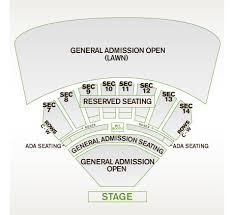 Cricket Amphitheatre Seating Chart Providence Medical Center Amphitheater Map Kansas City