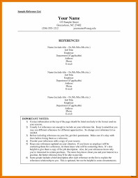 Sample Resumes With References 52 Elegant Reference Sample In Resume