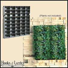 living wall planters to enlarge succulent living wall planter diy