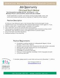 Child And Youth Worker Resume Examples Examples Of Resumes