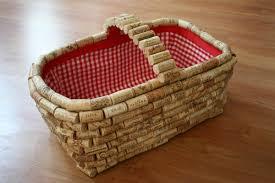 cork picnic basket
