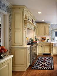 Wooden Floor Kitchen Awesome English Kitchen With Pretty Beige Wooden Cabinets And