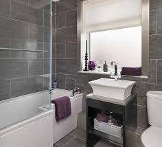 Full Size of Bathroom:attractive White And Gray Bathroom Ideas Black Tile  Modern Bathrooms Flooring Large Size of Bathroom:attractive White And Gray  ...