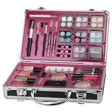 makeup kit box walmart. ivation professional vanity case cosmetic make up beauty box gift set 57 piece makeup kit walmart
