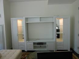White Living Room Storage Cabinets Chrystie Entertainment White Contempo Space
