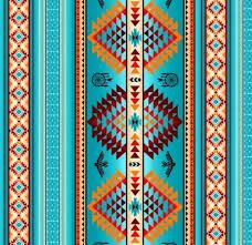 Southwest Pattern Inspiration Cotton Fabric Ethnic Fabric Tucson Southwest Aztec Dream Catcher