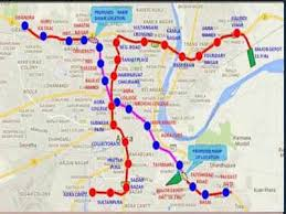 With 27 Stations 2 Corridors Agra To Have Running Metro By