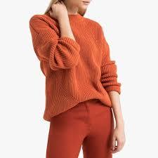Пуловер с воротником-стойка <b>La Redoute</b> Collections   La ...