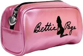 image is loading 78020 bettie page pink makeup case purse betty