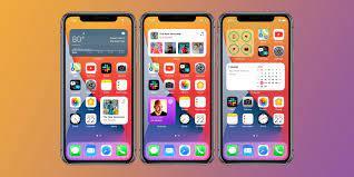 iPhone home screen widgets in iOS 14 ...