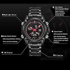 readeel military sports watches men s dual display multi function readeel military sports watches mens quartz digital dual