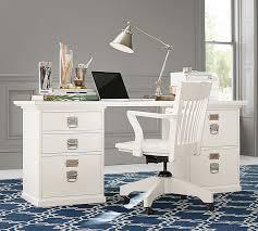 office freedom office desk large 180x90cm white. Exellent White Bedford Rectangular Desk Pottery Barn Inside Large White Idea 14 On Office Freedom 180x90cm