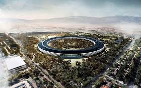 apples new spaceship cupertino hq in pictures technology apple head office london