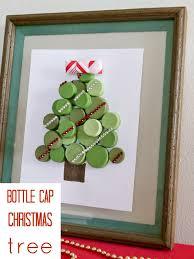 Decorated Bottle Caps Bottle Cap Christmas Tree CRAFT 54