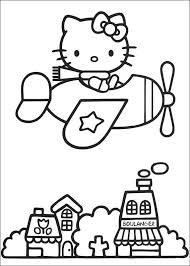 Kids N Funde Ausmalbild Hello Kitty Hello Kitty