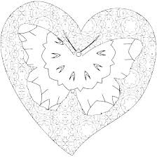 Free Printable Heart Design Coloring Pages Download Designs Pictures