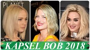 Blonde Bob Kapsels 2018