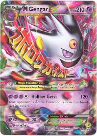 Mega gengar is a mega raid boss in pokémon go. Pokemon Card Promo Xy166 Mega Gengar Ex Holo Foil Sell2bbnovelties Com Sell Ty Beanie Babies Action Figures Barbies Cards Toys Selling Online