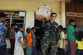 u s department of defense photo essay a philippine army ier moves medical supplies during a medical and dental civil action project